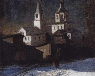 Церковь Ильи Обыденного в Москве — Алексей Саврасов