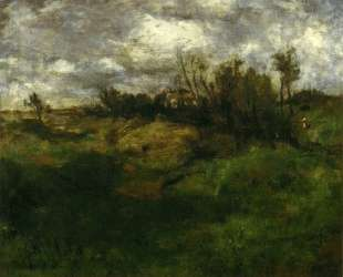 Cincinnati Landscape — Джон Генри Твахтман (Tуоктмен)