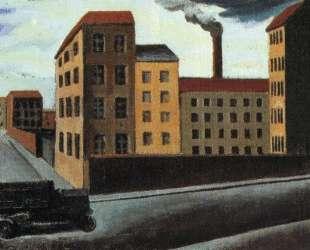 Cityscape with truck — Марио Сирони