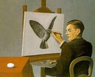 Clairvoyance (Self Portrait) — Рене Магритт