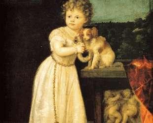 Clarice Strozzi — Тициан
