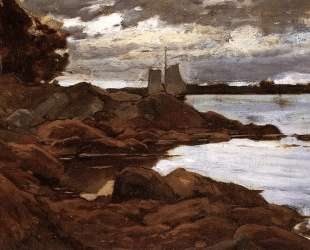 Close of Day on the Maine Shore — Уиллард Меткалф