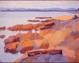 Coast Near Antibes — Анри Эдмон Кросс