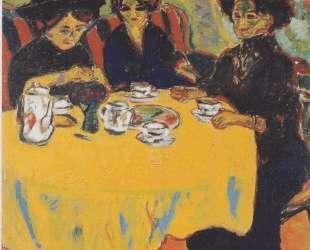 Coffee Drinking Women — Эрнст Людвиг Кирхнер