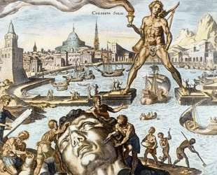 Colossus of Rhodes — Мартен ван Хемскерк