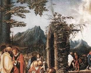 Причастие апостолов — Альбрехт Альтдорфер
