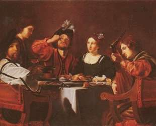 Company at the table — Николя Турнье