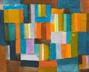 Composition in Orange and Blue-Green — Иоганнес Иттен