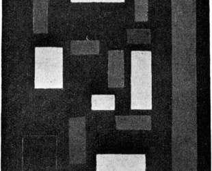 Composition VI (on black fond) — Тео ван Дусбург