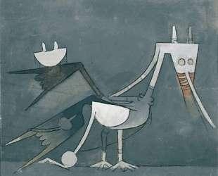Coq caraibe — Вифредо Лам
