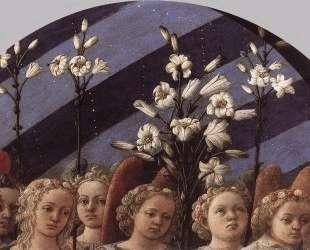 Coronation of the Virgin (detail) — Филиппо Липпи