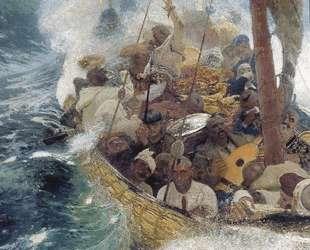 Казаки на Черном море — Илья Репин