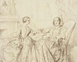 Графиня Шарль д'Огюль и её дочь Клер д'Огюль — Жан Огюст Доминик Энгр