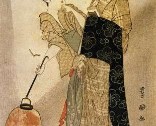 Courting Komachi — Утагава Тоёкуни