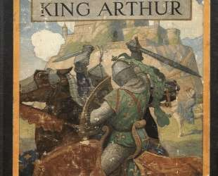 Cover of The Boy's King Arthur — Ньюэлл Конверс Уайет