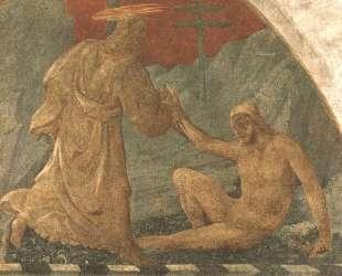 Сотворение Адама — Паоло Уччелло
