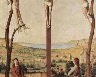 Распятие — Антонелло да Мессина