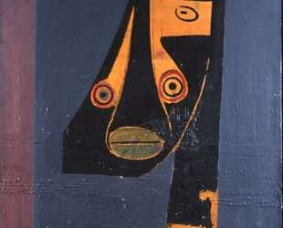 Cubist Face — Вифредо Лам
