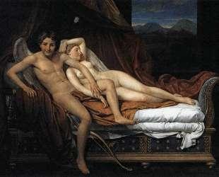 Купидон и Психея — Жак Луи Давид