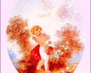 Cupid Between The Roses — Жан-Оноре Фрагонар