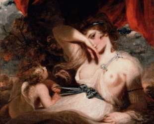 Cupid Unfastening the Girdle of Venus — Джошуа Рейнольдс
