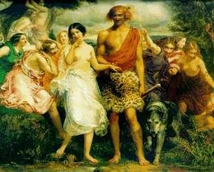 Cymon and Iphigenia — Джон Эверетт Милле