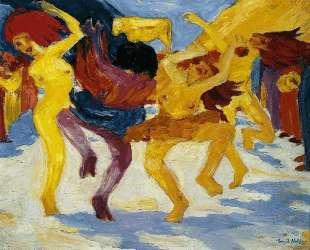 Dance Around the Golden Calf — Эмиль Нольде