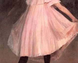 Dancer in a pink dress — Уильям Джеймс Глакенс