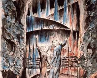 Данте и Вергилий у ворот Ада — Уильям Блейк