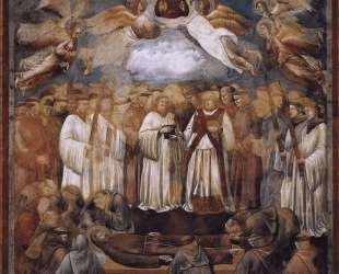 Death and Ascension of St. Francis — Джотто