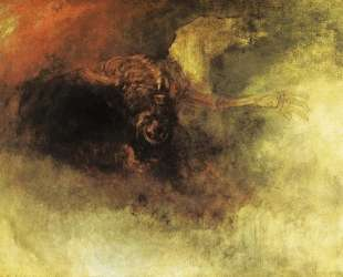 Death on a Pale Horse — Уильям Тёрнер