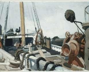 Deck of a Beam Trawler, Gloucester — Эдвард Хоппер