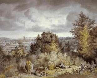 Церковь и долина в Дедхэме — Джон Констебл