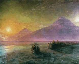 Сошествие Ноя с горы Арарат — Иван Айвазовский