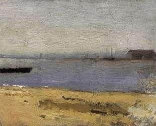 Delaware River Scene — Томас Икинс
