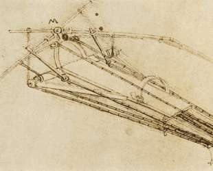 Design for a flying machine — Леонардо да Винчи