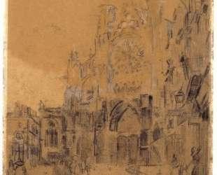 Dieppe, Study No. 2, Facade of St. Jacques — Уолтер Сикерт