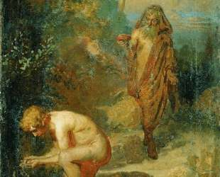 Диоген и мальчик — Илья Репин
