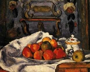Dish of Apples — Поль Сезанн