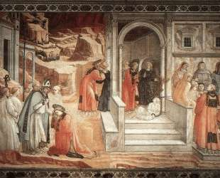 Disputation in the Synagogue — Филиппо Липпи