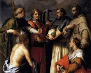 Disputation on the Trinity — Андреа дель Сарто
