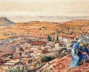 Distant View of Nazareth — Уильям Холман Хант