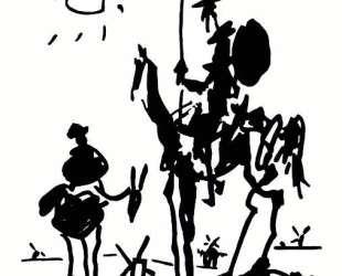 Don Quixote — Пабло Пикассо