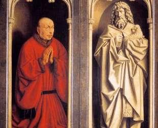Донатор и Св. Иоанн Креститель — Ян ван Эйк