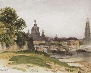 Дрезден. Мост Августа — Иван Шишкин