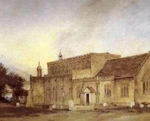 Церковь в Ист-Бергхолт — Джон Констебл
