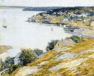East Boothbay Harbor — Уиллард Меткалф