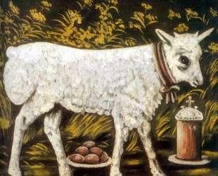 Пасхальный барашек — Нико Пиросмани