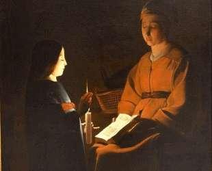 Education of the Virgin — Жорж де Латур
