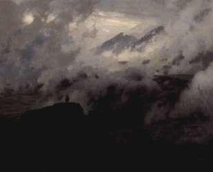 Elbrus in the clouds — Николай Ярошенко